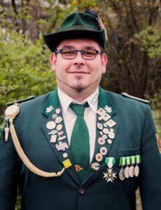 Kassierer Mario Berhorst